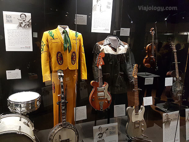 Exposición del Hall of Fame de la Música Country de Nashville