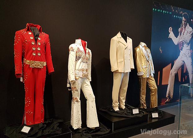 Exposición trajes de Elvis
