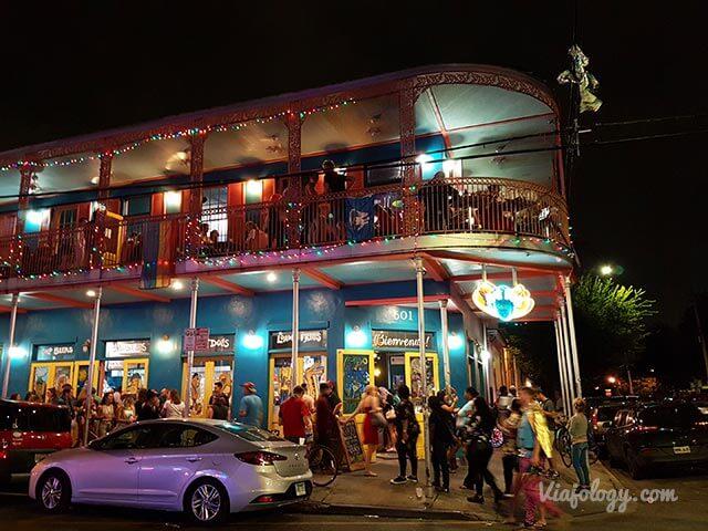 Frenchmen Street en Nueva Orleans