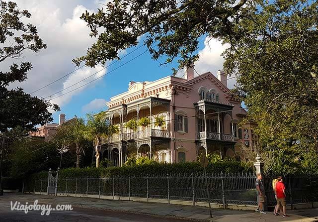 Mansión del Garden Distric de Nueva Orleans