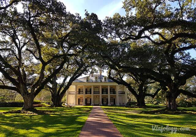 Plantacion Oak Alley en Luisiana