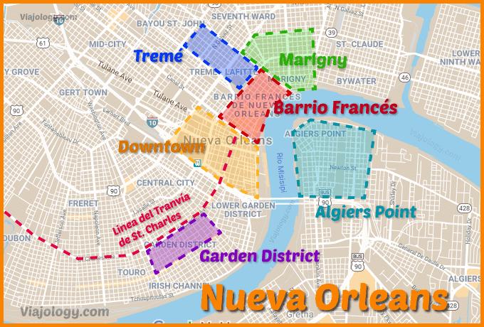 Barrios que ver en Nueva Orleans