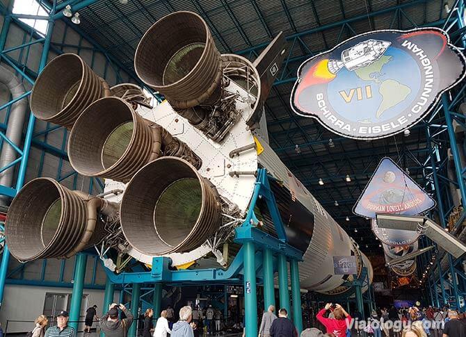 Exposición sobre las misiones Apollo en Cabo Cañaveral