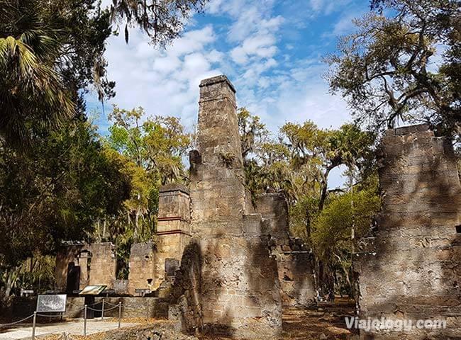 Ruinas de la Plantación Bulow