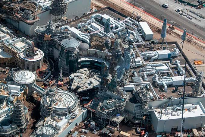 Obras de Star Wars Galaxy's Edge