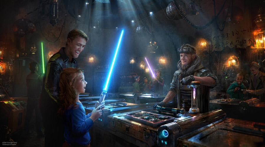 Tiendas en Star Wars Galaxys Edge