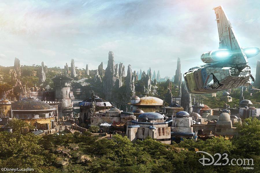 Zona Star Wars parque Disney