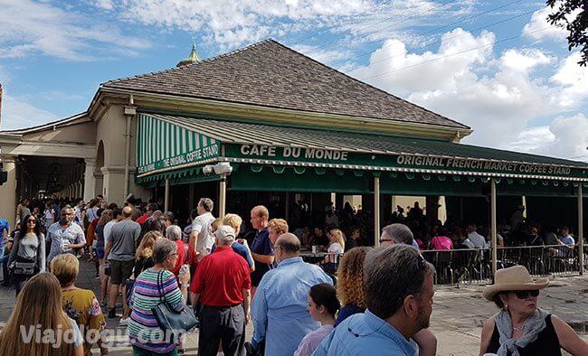 Cafe dy Monde en Nueva Orleans