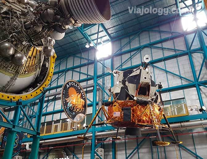 Modulo lunar que visitar en la NASA en Florida