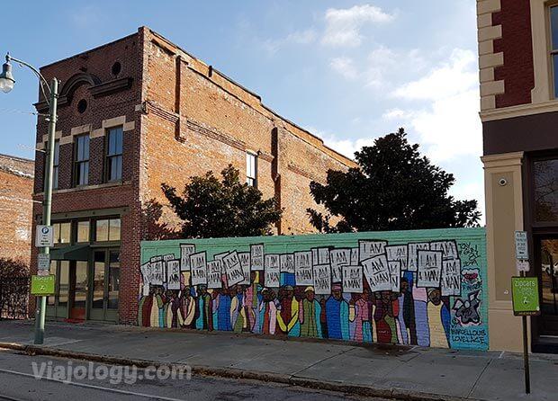 Mural I Am a Man en Memphis