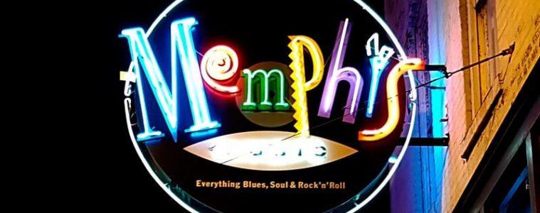 Luminoso de Memphis en Tennessee
