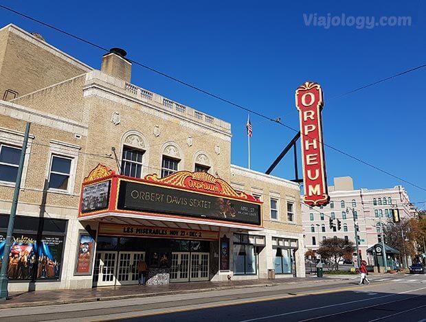 Teatro Orpheum en Memphis