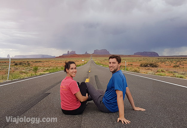 Monument Valley desde el Forrest Gump view point