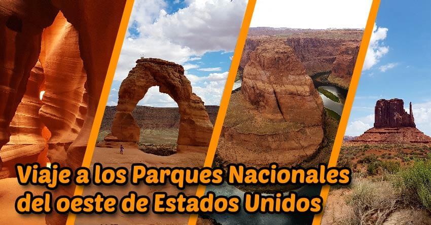 Viaje parques nacionales Oeste de Estados Unidos imagen principal FB
