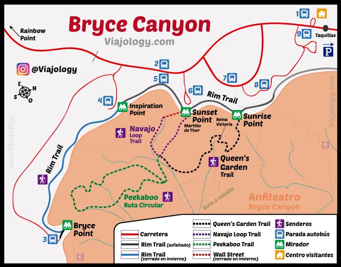 Plano Anfiteatro de Bryce Canyon