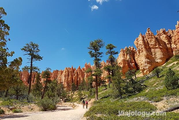 Ruta Queen's Garden Trail en Bryce Canyon