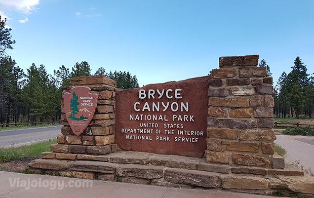 Entrada a Bryce Canyon