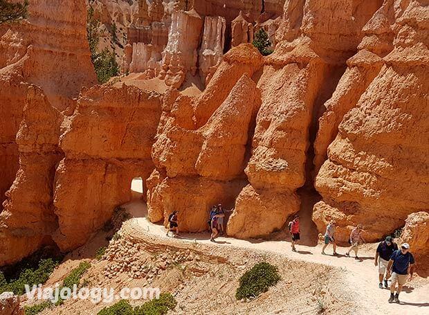 Sendero en Bryce Canyon