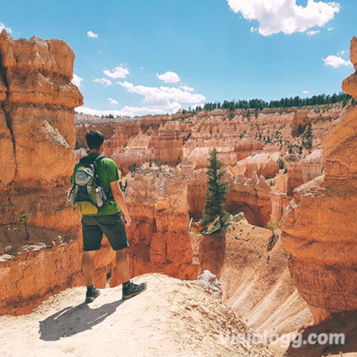 Senderismo en Bryce Canyon