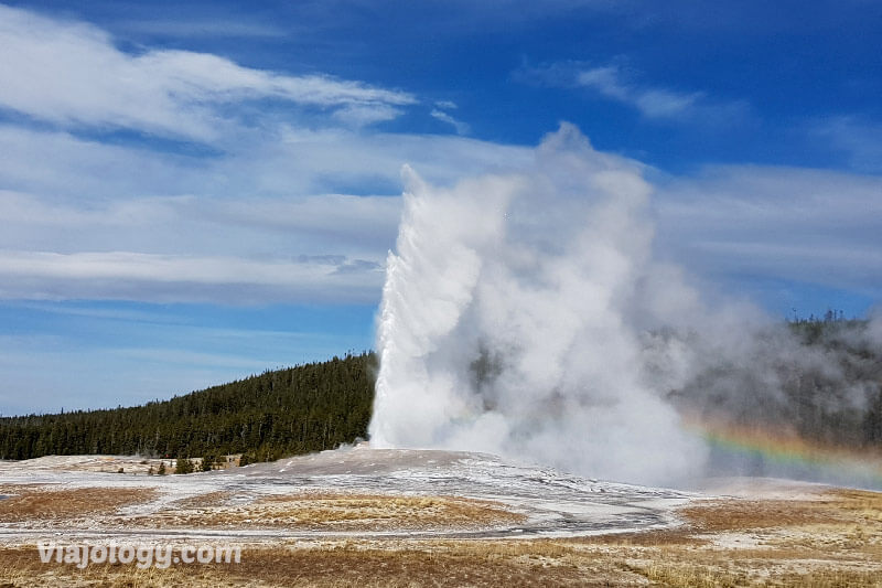 géiseres de Yellowstone