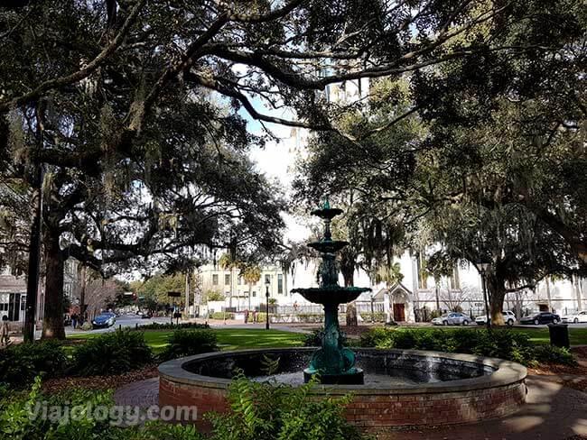 Lafayette Square en Savannah