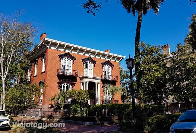 que ver en Savannah Mercer House en Savannah