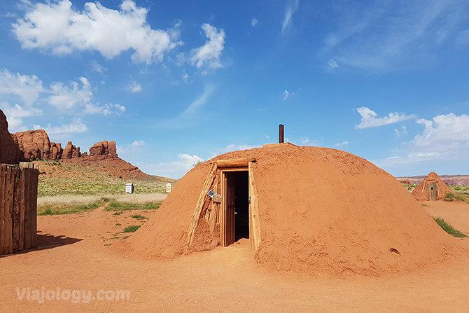 Casa tradicional Navajo