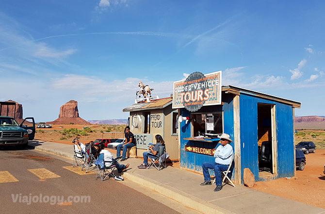 Kiosko tours Monument Valley