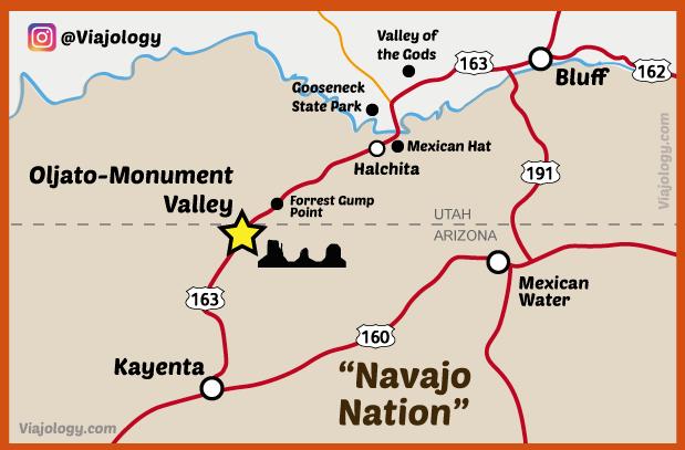 Como llegar a Monument Valley