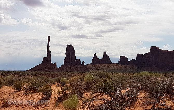 Totem Pole en Monument Valley